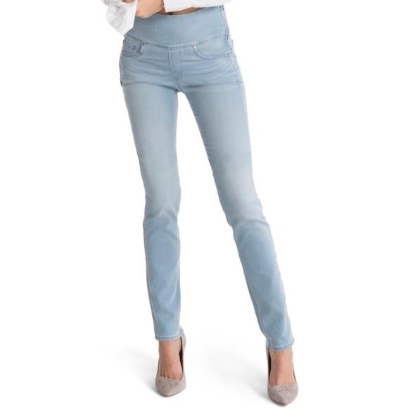 9f6314405e2f8c SPANX The Signature Straight Light Wash Jeans. M_5cd490082e7c2f169aefecdc